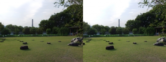 池田城跡公園⑤(平行法)