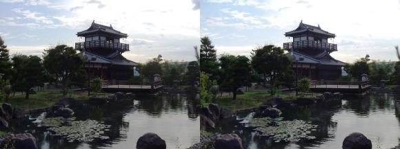 池田城跡公園④(平行法)