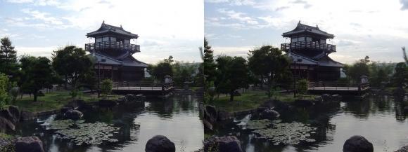 池田城跡公園④(交差法)