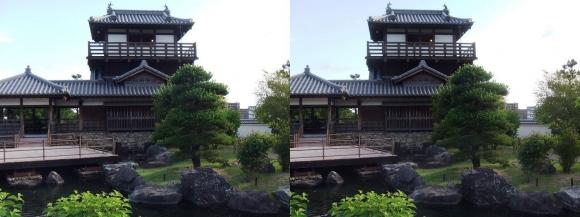 池田城跡公園③(交差法)