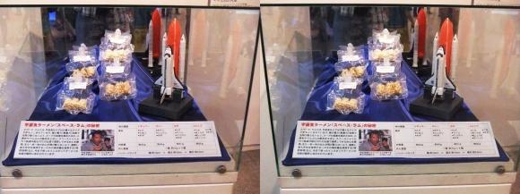 インスタントラーメン発明記念館 宇宙食ラーメン「Space Ram」①(交差法)