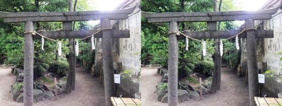 太閤園 『心願成就の網島稲荷』①(平行法)