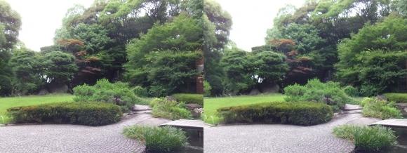 太閤園 中庭(平行法)