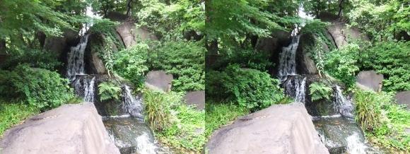 太閤園 滝(平行法)