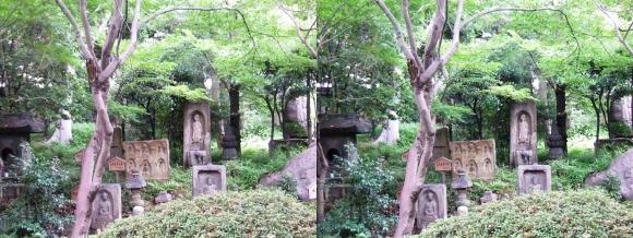 太閤園 石仏①(平行法)