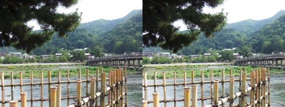 渡月橋④(平行法)