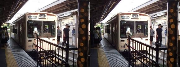 京福電気鉄道嵐山本線嵐山駅①(平行法)