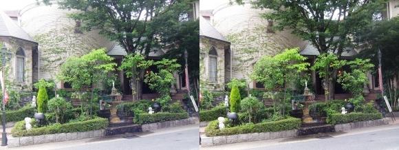 京都嵐山オルゴール博物館(交差法)