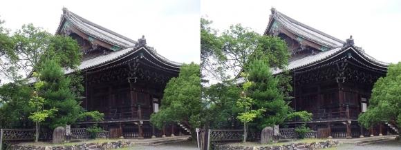 清涼寺(嵯峨釈迦堂)本堂①(平行法)