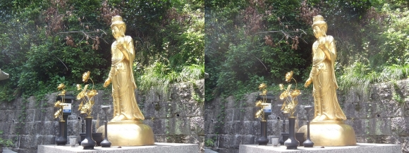 愛宕(おたぎ)念仏寺 虚空蔵菩薩(交差法)