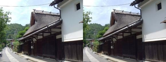 嵯峨鳥居本 重要伝統的建造物郡保存地区③(交差法)