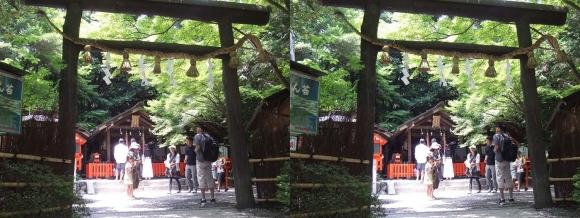 野宮神社(平行法)