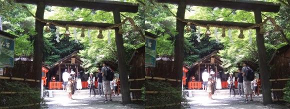 野宮神社(交差法)