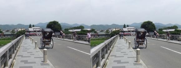 渡月橋③(平行法)