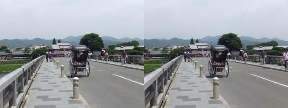 渡月橋③(交差法)