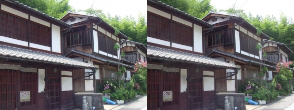 嵯峨鳥居本 重要伝統的建造物郡保存地区⑤(交差法)
