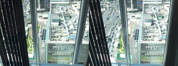 あべのハルカスエレベーター①(平行法)