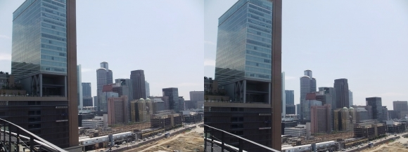 大阪北ヤード(交差法)