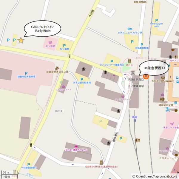 OpenStreetMap -Garden House