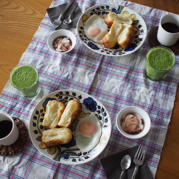 20140812_ハニーレモンブレッドの朝食02