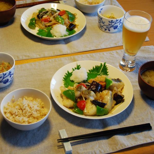 20140812_鱈と夏野菜の甘酢餡01