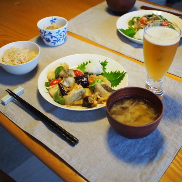 20140812_鱈と夏野菜の甘酢餡02