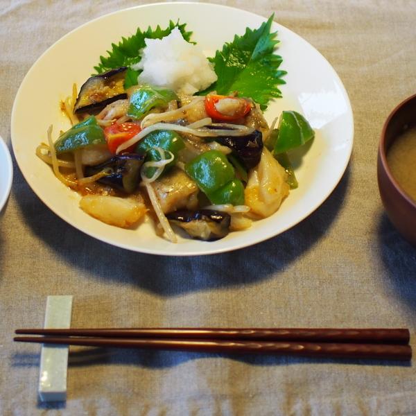 20140812_鱈と夏野菜の甘酢餡03
