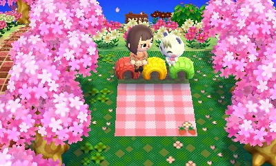 さくらのお花見昼間