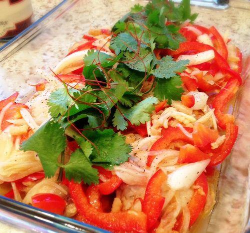 ベトナム風チキンマリネ