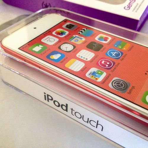 New iPod touch!
