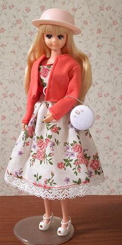 まりぞうさんドレスセットのフローラ