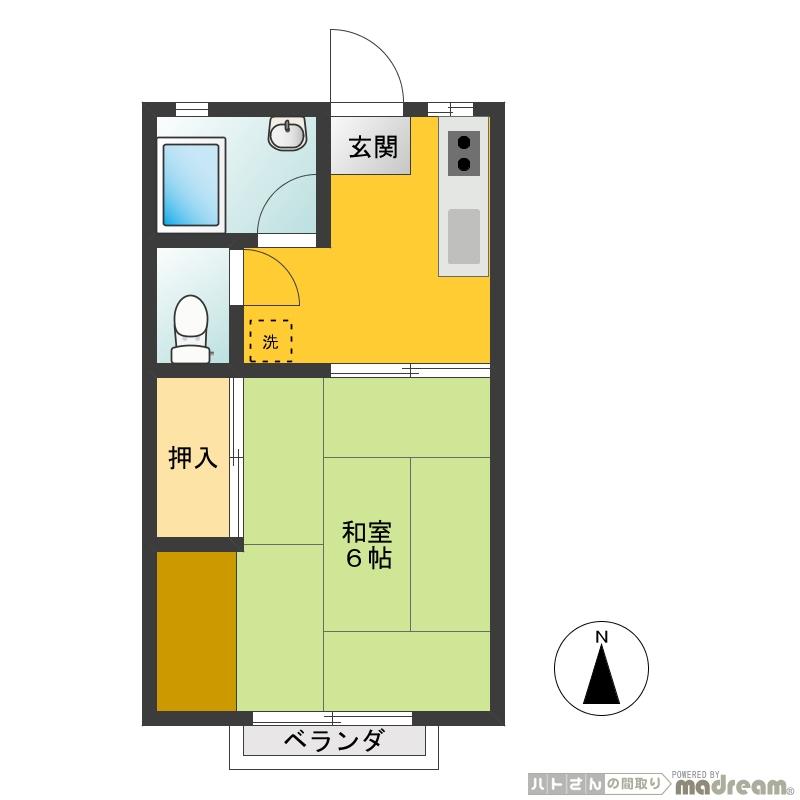 武蔵野ハイツ103