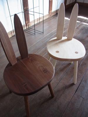 うさぎ椅子01
