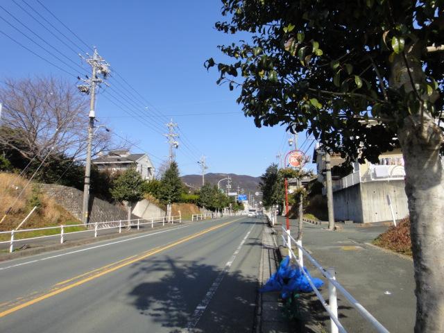 新城から本宮山方面