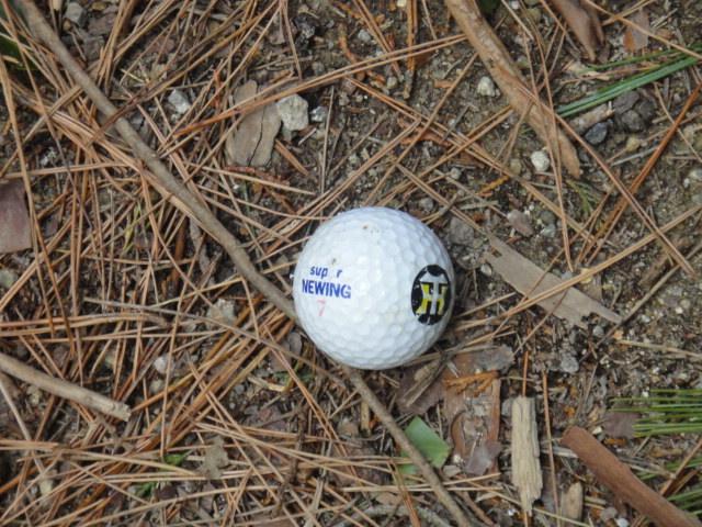 ゴルフボール?