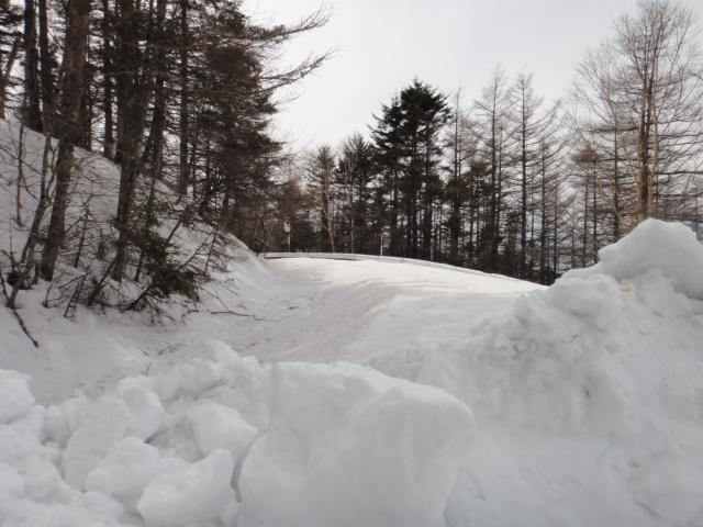 その先は除雪なし