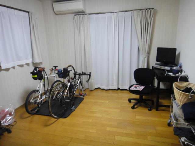 自転車搬入