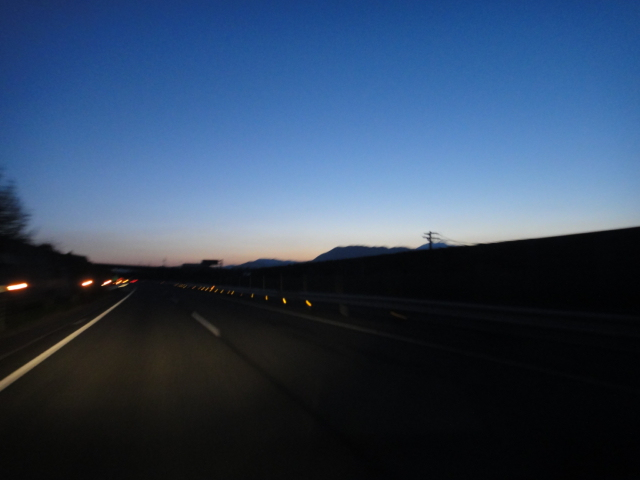 伊那谷 夜明け前