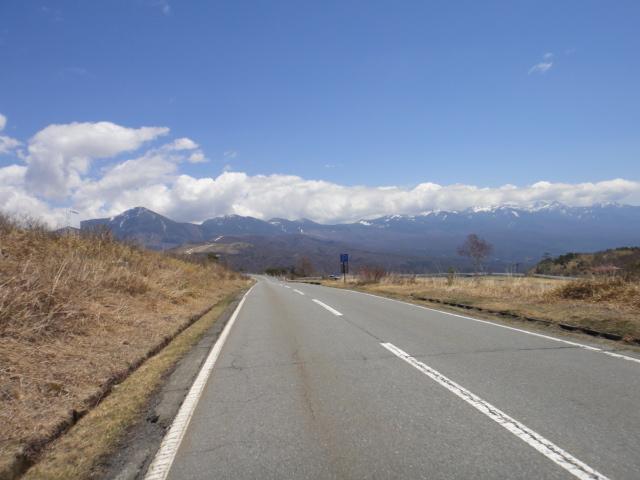 八ヶ岳、蓼科山