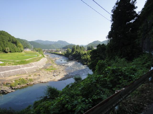 快晴と長良川