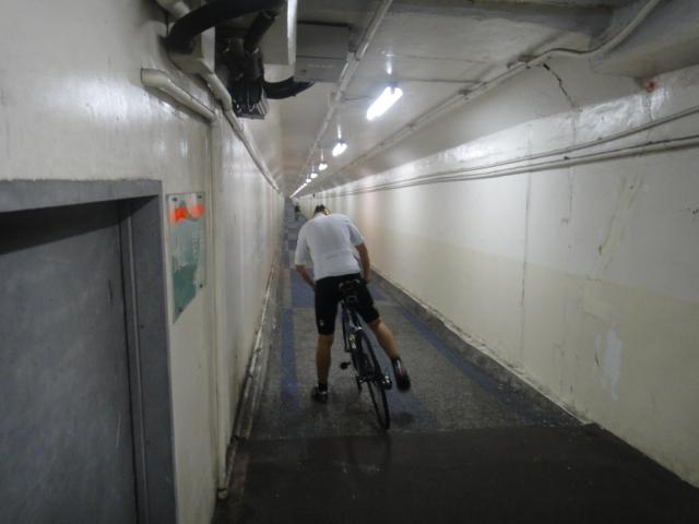 海底サイクリング
