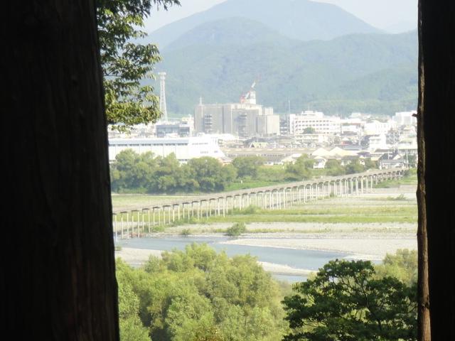 蓬莱橋遠景