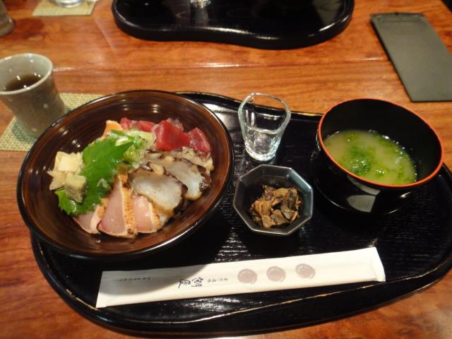 海鮮たたき丼