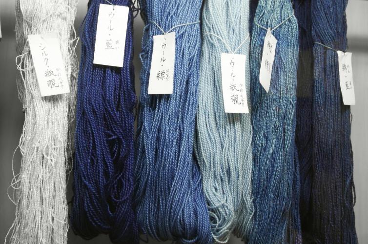 藍染サンプル色抽出