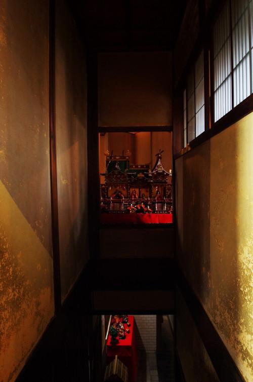 ひなかざり 川本邸 階段上
