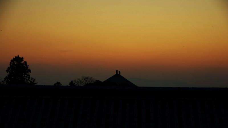 二月堂からの夕景