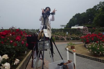 霊山寺 カメラマンのお姉さん