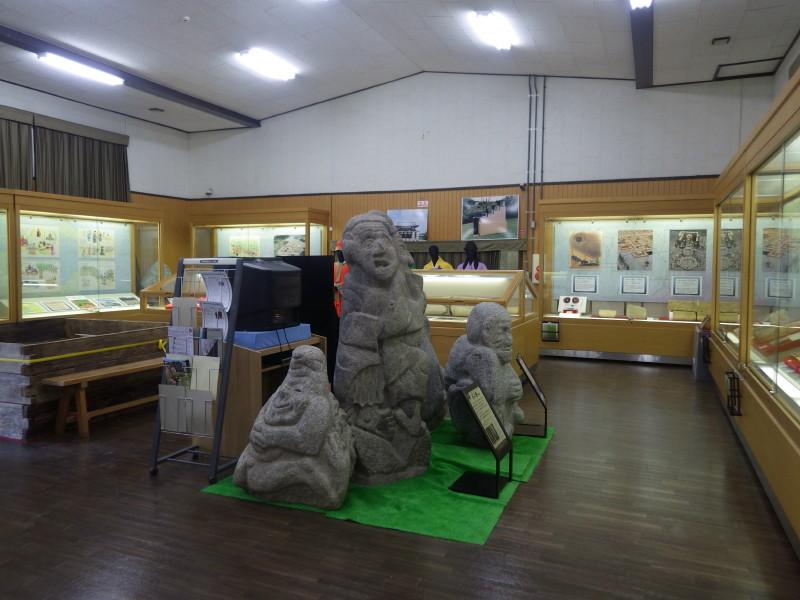 明日香村埋蔵文化財 館内1