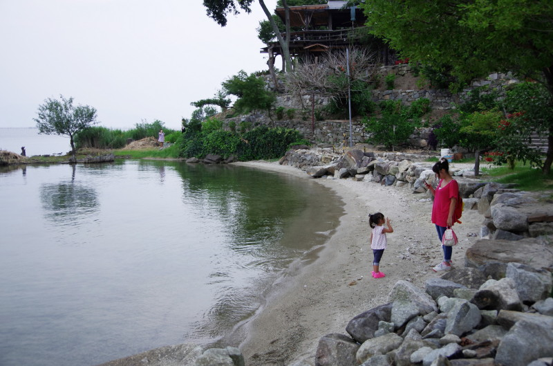 シャーレ水ヶ浜. ビーチ
