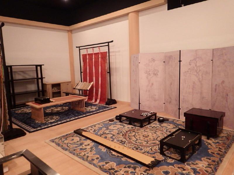 平城京 資料館展示